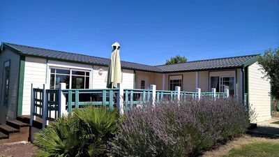 Photo for Camping Auzance - Prestige Chalet XXL - 3 bedrooms 86m² with terrace