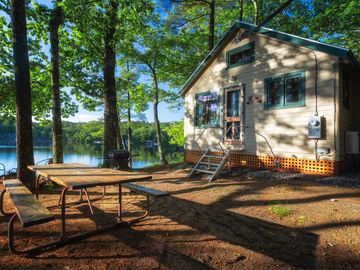 The 'Wicked Cute' Camp – on Norton Pond Near Camden & the Coast of Maine