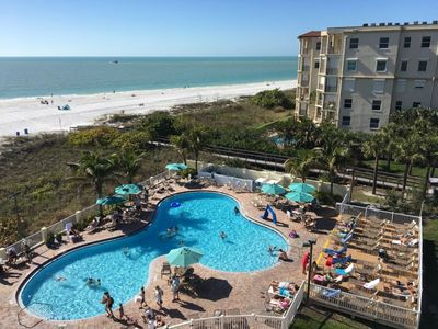 Photo for RIGHT ON THE BEACH, 2 x 2BR/2BA APTSs, FAMILY FRIENDLY, 2 POOLS, PARKING