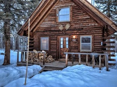 Photo for Cozy Weekend Getaway - Privately Secluded Cabin!