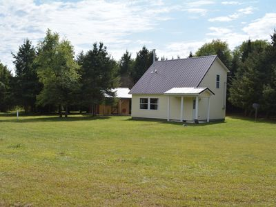 Photo for Secluded cabin surrounded by 8 acres of nature