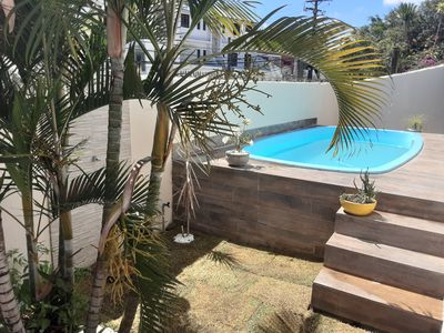 Photo for House 3/4 with pool in Itapuã near the beach