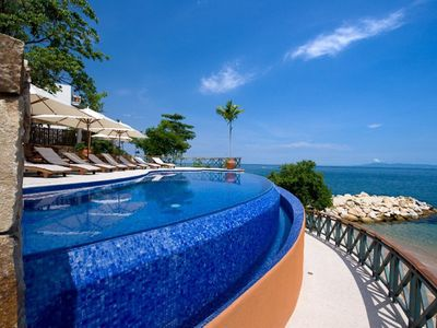 Photo for Puerto Vallarta... Most Sophisticated Ocean Front Dev. 3200sq.ft.