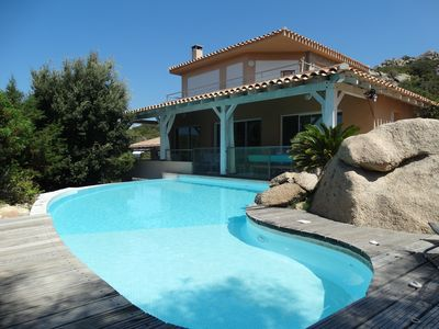 Photo for Very high standard and well designed villa overlooking an exceptional site