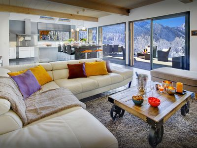 Photo for 5* Get a taste for Alpine life from this contemporary chalet - OVO Network