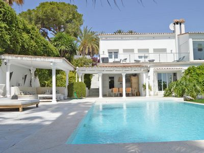 Photo for STRIKING VILLA NUEVA ANDALUCIA , 4 BEDROOMS  , PRESTIGIOUS  RESIDENTAL AREA
