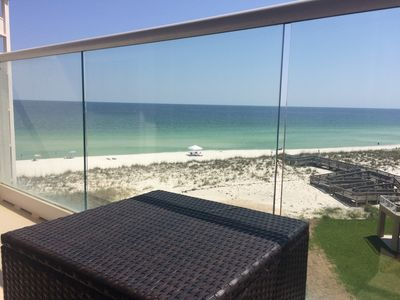 Photo for Beautiful ☀️Gulf Front☀️Couples or Small Family☀️ Pensacola Beach Regency Towers 🇺🇸