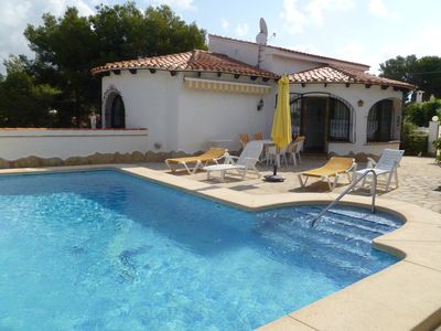 Photo for Villa with private pool near the beach