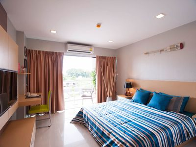 Photo for 1BR Apartment Vacation Rental in Tambon Bang Bo, Chang Wat Samut Prakan