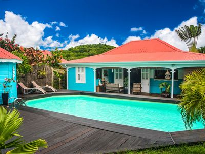 Photo for Romantic villa 4 bedrooms. on the road to the beaches
