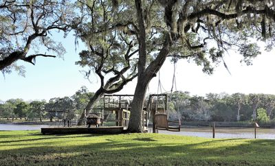 Riverfront Home with Tri-Level Boat Dock, Fishing, Watersports & Leisure Space