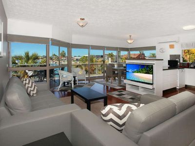Photo for 2 Bedroom + Sofa bed (sleep 5) Apartment on Canal in the Heart of Mooloolaba