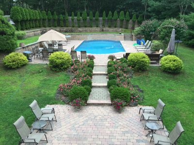 Photo for Southampton July and/or August Rental 4BDR, 2Bath, Pool, Hot Tub, No Pets