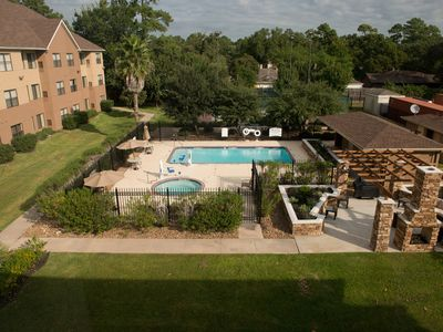Photo for Outdoor Pool and Hot Tub | Modern Studio + FREE Breakfast