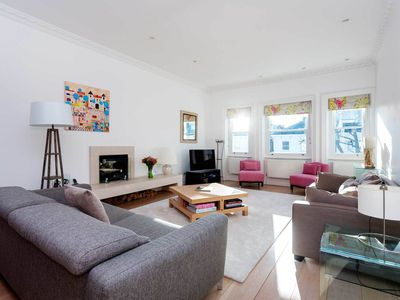 Photo for Reach Soho in 20 mins, from a beautifully simplistic 3 BR apartment (Veeve)