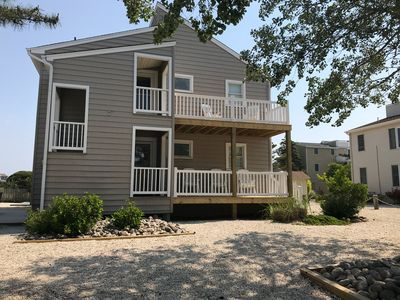 Photo for 4 Houses To The Beach, Quiet Area, 1st Floor Unit
