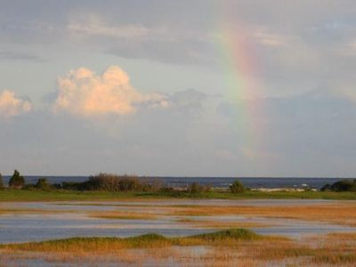 Photo for Stunning Ocean and Marsh View - Golf Cart Included!