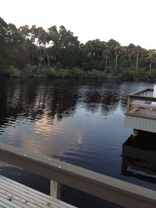 Photo for 3 BR/3 bath Premier Parkside villa, Dock on Lagoon, Full Resort Privileges