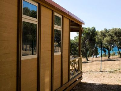 Photo for Camping Pascalounet ** - Premium Bungalow 3 Rooms 5 People