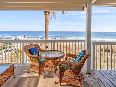 Photo for Ocean Dunes 2101A - Oceanfront, end unit, covered deck, elevator, pools