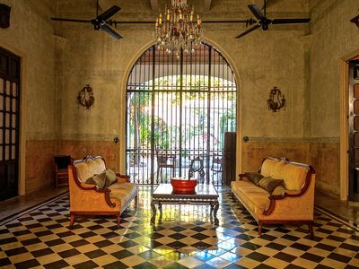 Photo for Maison Azul - Historic Merida, French Colonial Mansion with Old World Romance