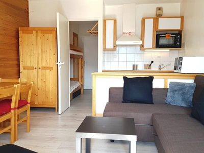 Photo for Apartment Flaine, studio flat, 4 persons