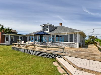 Photo for Beachfront Cottage, Beautiful Views, Stretch of Private Beach, Walk to Restaurants