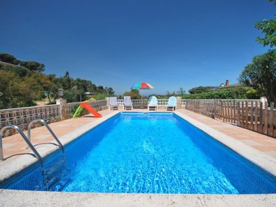 Photo for Club Villamar - Wonderful villa with 2 kitchens, nice garden with bbq, fenced pool in a quiet are...
