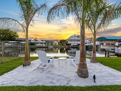 Photo for Good Vibes and Tan Lines! Private Beach with Heated Pool - Villa Good Times, Fort Myers Beach