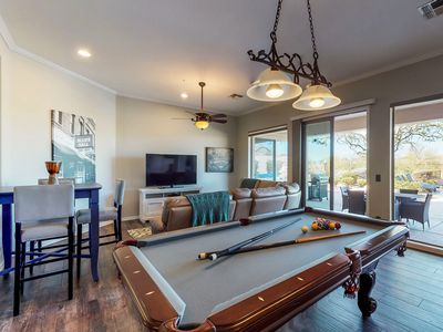 Photo for NEW LISTING! Family home w/beautiful enclosed yard & pool, pool table & WiFi