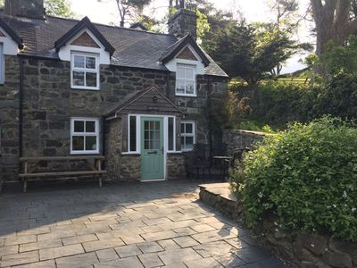Photo for A fabulous stone cottage built in 1855, nestled in to the the hillside