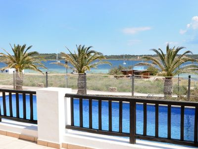Photo for Chalet in the sea, in a very exclusive area of ​​Menorca. Internet.