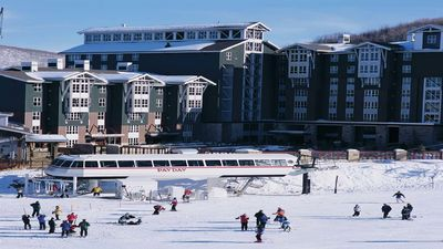 Photo for Marriott's Mountainside Villa true in/out skiing see to believe $450/ night
