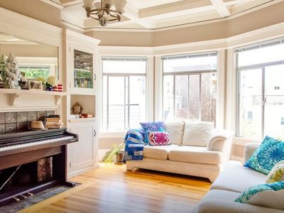 Photo for Super Sunny Two bedroom by Castro and Mission