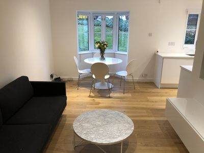 Photo for Luxury modern apartment - close to train station and royal marsden hospital.