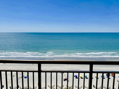 Photo for Stunning Direct OCEANFRONT 14th Floor Condo*Pools*Hot Tubs