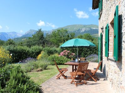 Photo for Charming Farmhouse with Views & Pool in the National Park