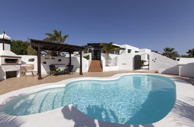 Photo for Delightful Villa - private heated pool and sea views