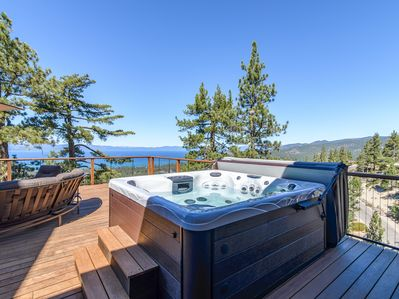 Hot Tub - Enjoy a starlit soak in the open-air hot tub.