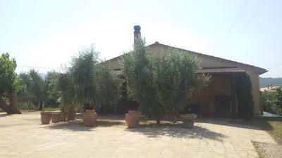 Photo for Rent house 90 m. with 2000m garden. 2 km. from the sea in the countryside