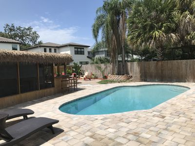 Private House with pool & cabana - South Tampa