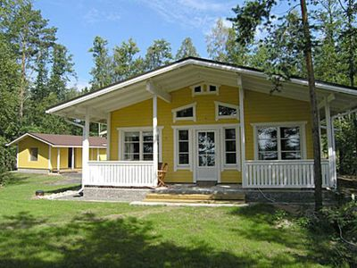 Photo for Vacation home Aurinkoniemi in Kesälahti - 7 persons, 2 bedrooms