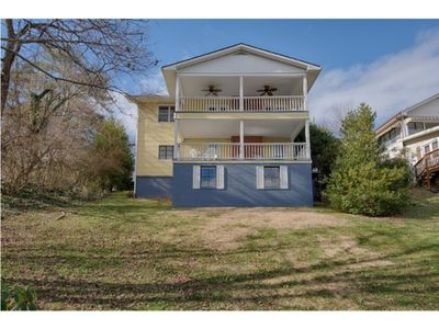 Photo for Our Mountain Home - 4 BD / 4 BA Panoramic Lake & Mtn views from two porches.