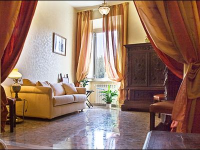 Photo for A truly lovely, Italian lifestyle, air-conditioned, comfortable apartment