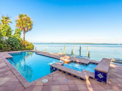 Private Intra-Coastal front home with sprawling views.