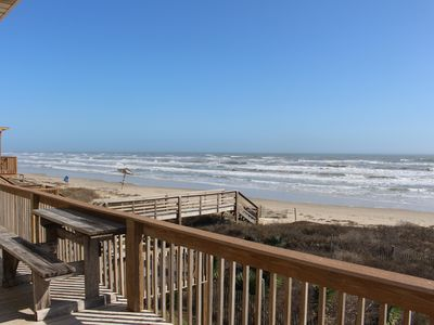 Front row beach house just steps to the sand in Surfside