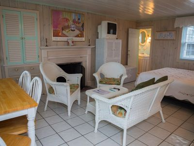 Photo for NEW LISTING! Comfortable, oceanfront cottage w/fireplace & easy beach access