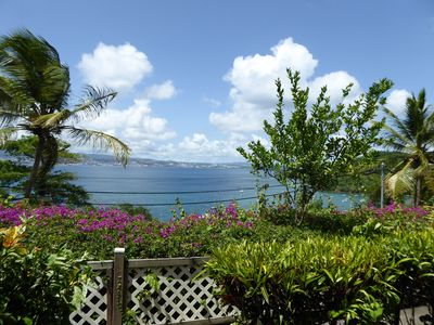 Photo for APARTMENT 40M2 WITH SEA VIEW OF THE CARIBBEAN AND TERRACE