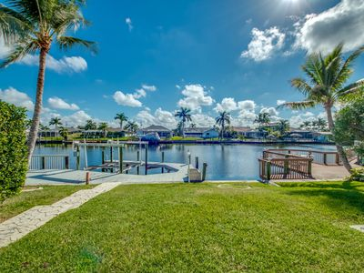 Photo for Calling all boaters! Fabulous Location!! With Heated Pool.  - Villa Tranquility - Cape Coral