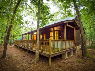 Photo for Nick's Nature House (4 Bdrm)(Mid Lux)(HOT TUB)